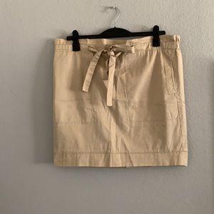 Cute cinch waist belted tie skirt